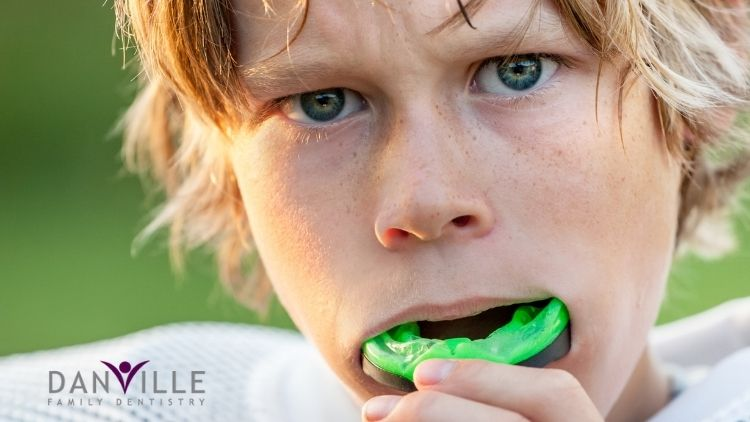Mouth guards are an important piece of equipment for youth in athletics.